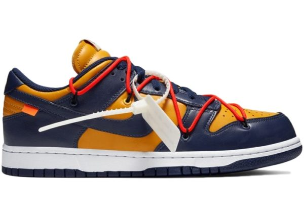 NIKE DUNK LOW OFF-WHITE (PART 3 OF 3) – UNIVERSITY GOLD MIDNIGHT NAVY Release Information (Model: CT0856-700)