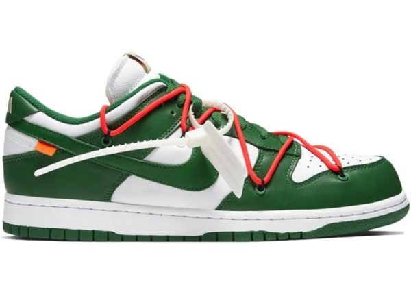NIKE DUNK LOW OFF-WHITE (PART 1 OF 3) – PINE GREEN Release Information (Model: CT0856-100)