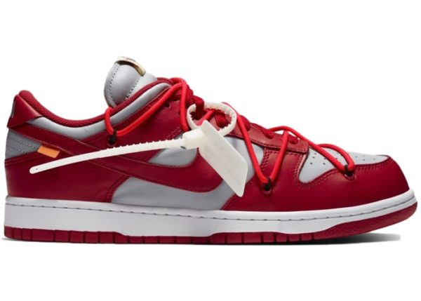 NIKE DUNK LOW OFF-WHITE (PART 2 OF 3) – UNIVERSITY RED Release Information (Model: CT0856-600)