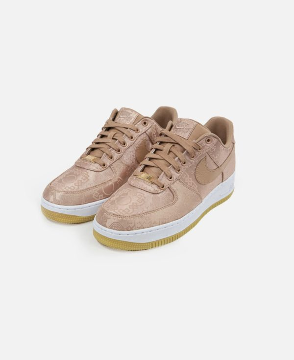 """CLOT X NIKE'S """"ROSE GOLD SILK"""" AIR FORCE ONE Release Information (Model: CJ5290-600)"""