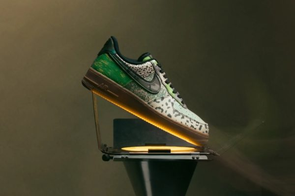 """NIKE AIR FORCE 1 '07 """"CITY OF DREAMS"""" – BLACK/GREEN SPARK Release Information Updated (Model No.: CT8441-002)"""