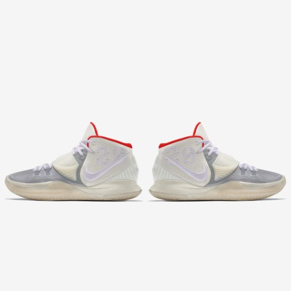 Kyrie 6 By You White/Red/Glow In The Dark : Air Yeezy 2 Inspired Release Information