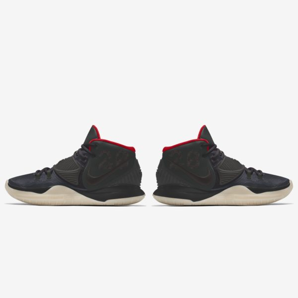 Kyrie 6 By You Black/Red/Glow In The Dark : Air Yeezy 2 Inspired Release Information