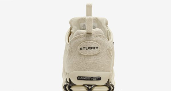 NIKE X STÜSSY AIR ZOOM SPIRIDON CAGE 2 FOSSIL Release Information (Model No.: CQ5486-200)