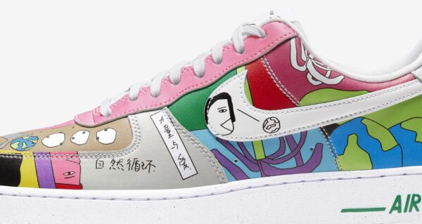 AIR FORCE 1 FLYLEATHER RUOHAN WANG Release Information (Model No.: CZ3990-900)