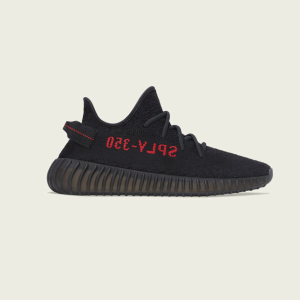 YEEZY BOOST 350 V2 CORE BLACK / CORE BLACK / RED Release Information (Model No.: CP9652)