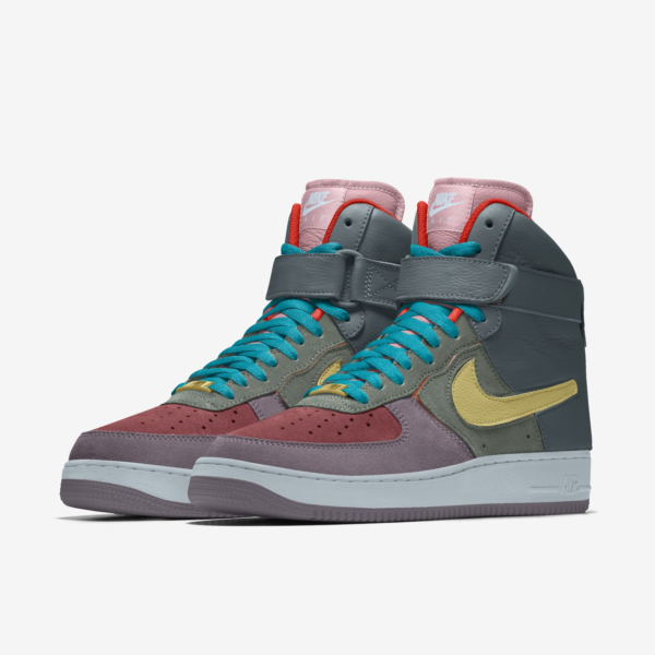 NIKE AIR FORCE 1/1 UNLOCKED BY YOU X HKR DESIGNED V5.0