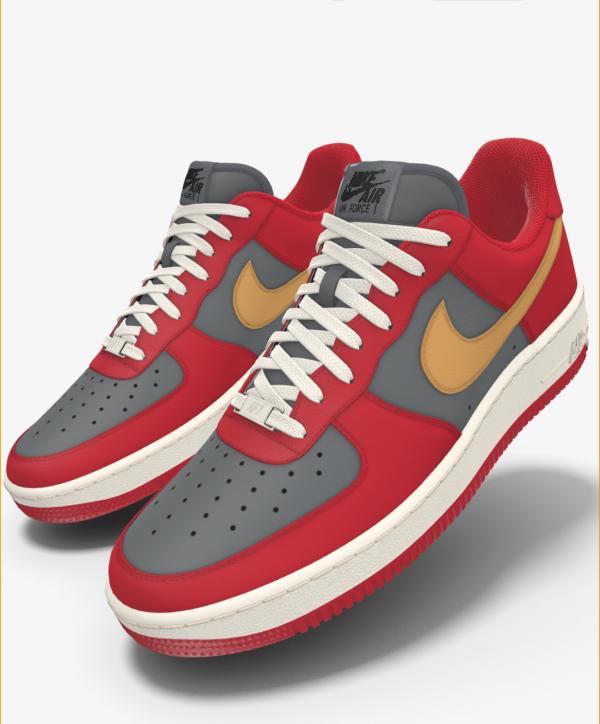 NIKE AIR FORCE 1 LOW BY YOU X HKR DESIGNED V7.12