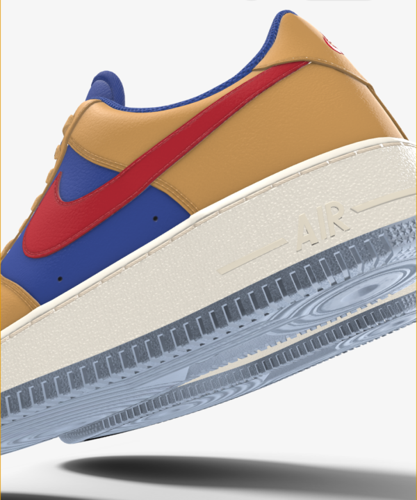 NIKE AIR FORCE 1 LOW BY YOU X HKR DESIGNED V7.17