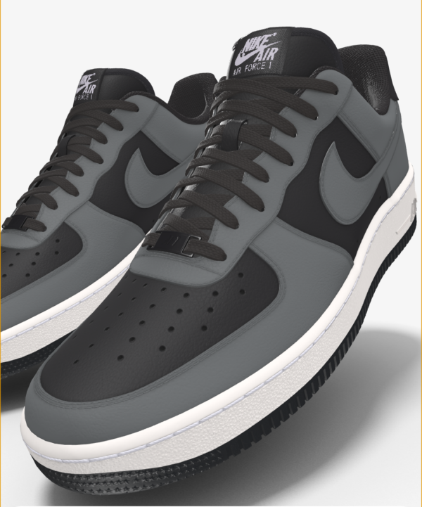 NIKE AIR FORCE 1 LOW BY YOU X HKR DESIGNED V7.19