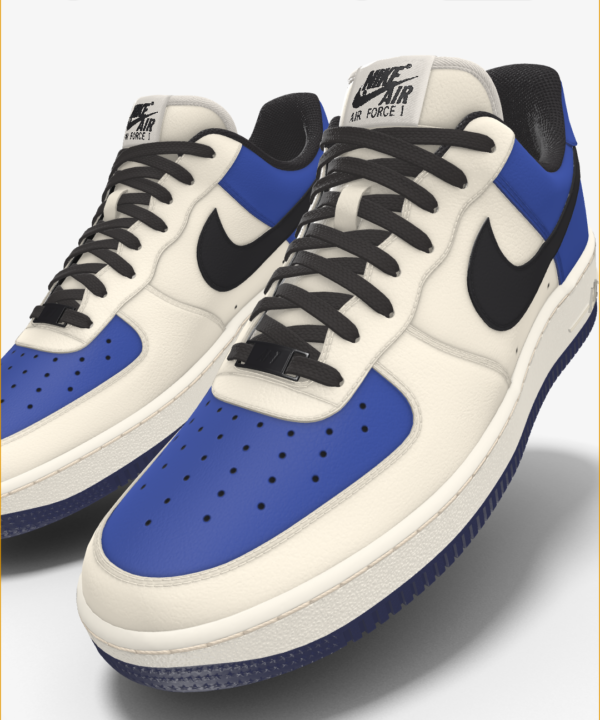 NIKE AIR FORCE 1 LOW BY YOU X HKR DESIGNED V7.21