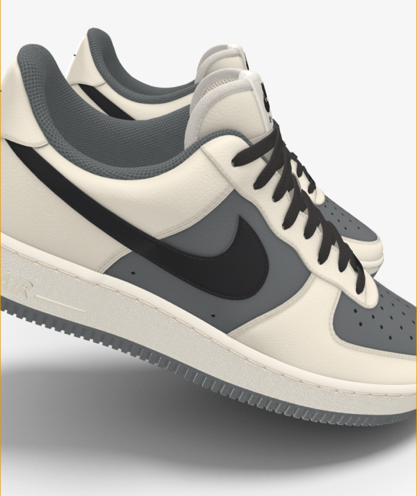 NIKE AIR FORCE 1 LOW BY YOU X HKR DESIGNED V7.25