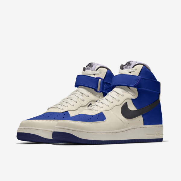 NIKE AIR FORCE 1 HIGH BY YOU X HKR DESIGNED V11.1