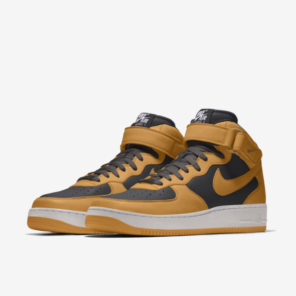 NIKE AIR FORCE 1 MID BY YOU X HKR DESIGNED V12.21