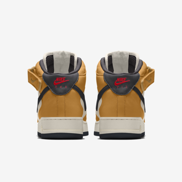 NIKE AIR FORCE 1 MID BY YOU X HKR DESIGNED V12.22