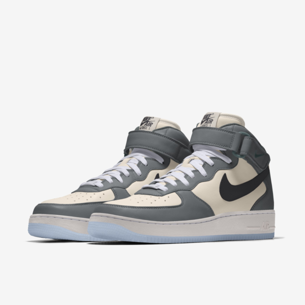 NIKE AIR FORCE 1 MID BY YOU X HKR DESIGNED V12.23