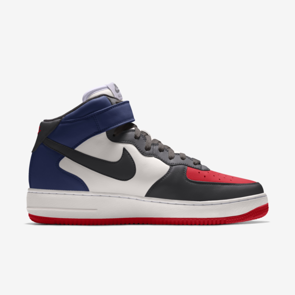 NIKE AIR FORCE 1 MID BY YOU X HKR DESIGNED V12.24