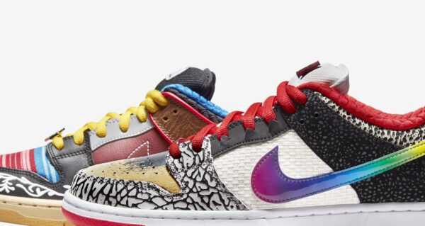 SB DUNK LOW WHAT THE PAUL Release Information (Model No.: CZ2239-600)
