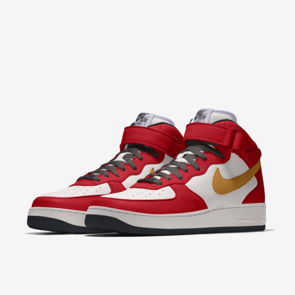 NIKE AIR FORCE 1 MID BY YOU X HKR DESIGNED V12.25