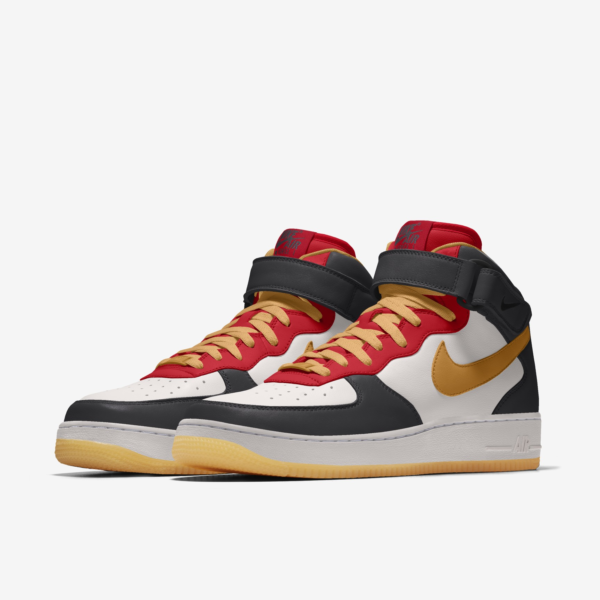 NIKE AIR FORCE 1 MID BY YOU X HKR DESIGNED V12.27