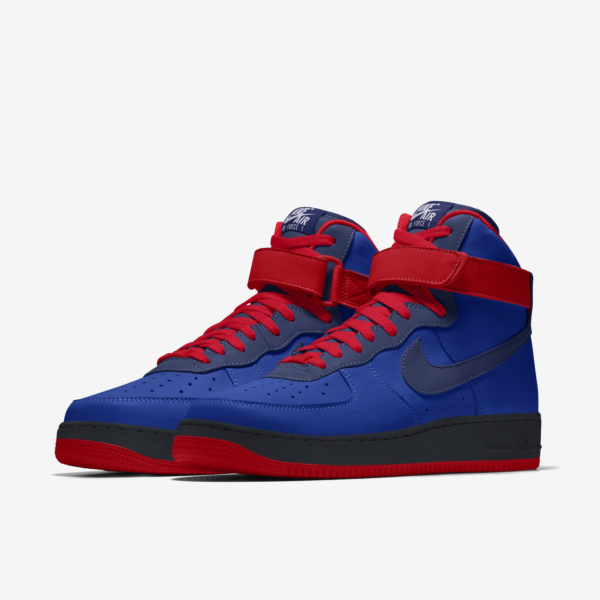 NIKE AIR FORCE 1 HIGH BY YOU X HKR & JC DESIGNED V11.2