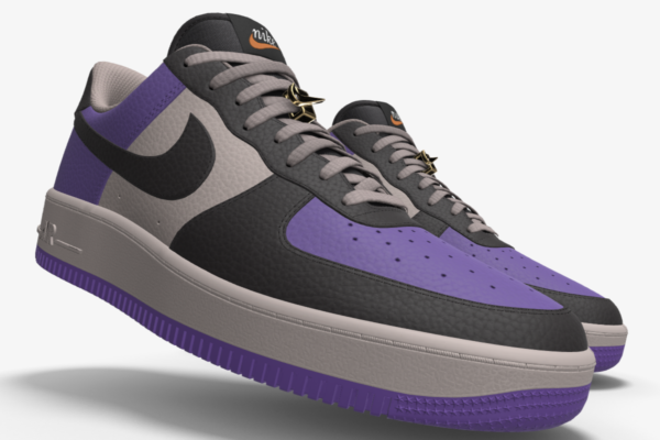 NIKE AIR FORCE 1 LOW UNLOCKED BY YOU X HKR DESIGNED V15.10