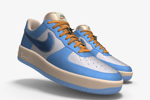 NIKE AIR FORCE 1 LOW UNLOCKED BY YOU X HKR DESIGNED V15.9